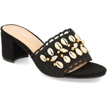 Sapatos Mulher Chinelos H&d YZ19-150 Negro