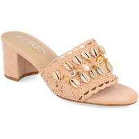 Sapatos Mulher Chinelos H&d YZ19-150 Rosa
