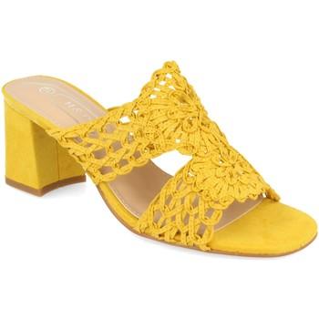 Sapatos Mulher Chinelos H&d YZ19-68 Amarillo
