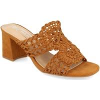 Sapatos Mulher Chinelos H&d YZ19-68 Camel
