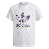 Textil Rapariga T-Shirt mangas curtas adidas Originals TREF TEE Branco