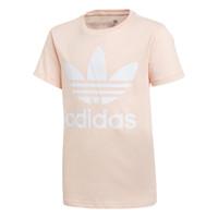Textil Rapariga T-Shirt mangas curtas adidas Originals TREFOIL TEE Rosa