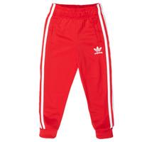 Textil Criança Calças de treino adidas Originals SST TRACKPANT Vermelho