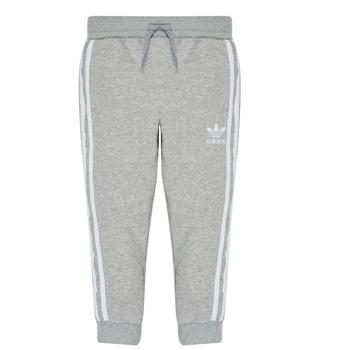 Textil Rapaz Calças de treino adidas Originals TREFOIL PANTS Cinza