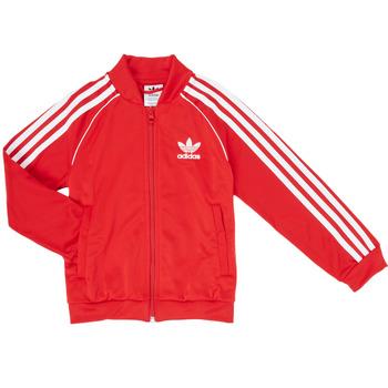 Textil Rapaz Casacos fato de treino adidas Originals SST TRACKTOP Vermelho
