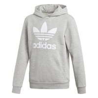 Textil Rapaz Sweats adidas Originals TREFOIL HOODIE Cinza