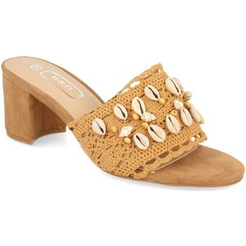 Sapatos Mulher Chinelos H&d YZ19-150 Camel