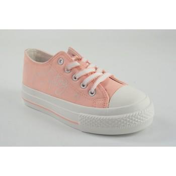 Sapatos Rapariga Sapatilhas MTNG Garota da lona MustANG KIDS 47988 rosa Rosa