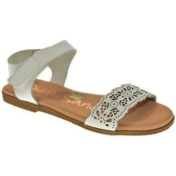 Sapatos Rapariga Sandálias Oh My Sandals 4756 Blanco