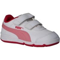 Sapatos Criança Multi-desportos Puma 192523 STEPFLEEX 16 WHITE-PEONY Blanco