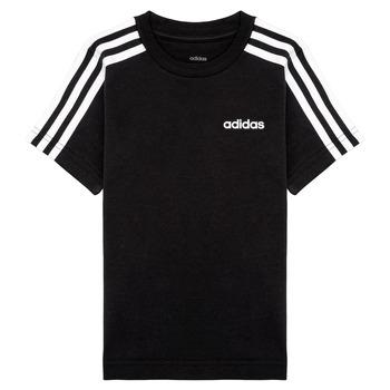 Textil Rapaz T-Shirt mangas curtas adidas Performance YB E 3S TEE Preto