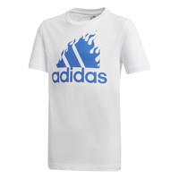 Textil Rapaz T-Shirt mangas curtas adidas Performance JB BOS GRAPH Branco