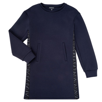 Textil Rapariga Vestidos curtos Emporio Armani 6H3A07-1JDSZ-0920 Marinho