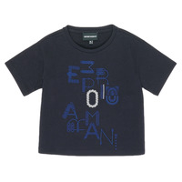 Textil Rapariga T-Shirt mangas curtas Emporio Armani 6H3T7R-2J4CZ-0926 Marinho