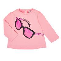 Textil Rapariga T-shirt mangas compridas Emporio Armani 6HET02-3J2IZ-0315 Rosa