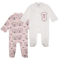 Textil Rapariga Pijamas / Camisas de dormir Emporio Armani 6HHV06-4J3IZ-F308 Rosa