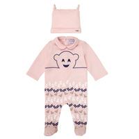 Textil Rapariga Pijamas / Camisas de dormir Emporio Armani 6HHV08-4J3IZ-0355 Rosa