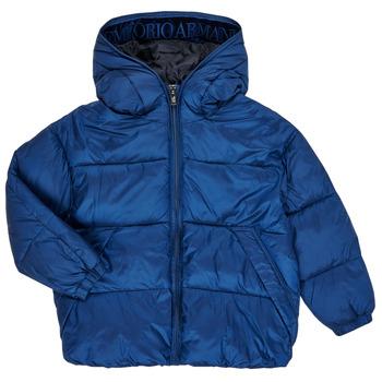 Emporio Armani  Quispos 6H4BF9-1NLYZ-0975  Azul Disponível em tamanho para rapaz 4 ans,5 ans,6 ans,7 ans,8 ans,10 ans,12 ans,14 ans,16 ans.Criança > Menino > Roupas > Quispos