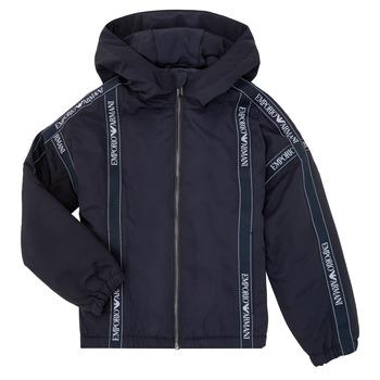 Textil Rapaz Jaquetas Emporio Armani 6H4BL0-1NYFZ-0920 Marinho