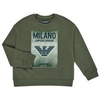 Textil Rapaz Sweats Emporio Armani 6H4MM1-4J3BZ-0564 Cáqui