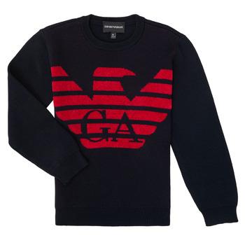 Textil Rapaz camisolas Emporio Armani 6H4MTL-1MDDZ-F934 Marinho