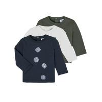 Textil Rapaz T-shirt mangas compridas Emporio Armani 6HHD21-4J09Z-0564 Multicolor