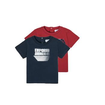 Textil Rapaz T-Shirt mangas curtas Emporio Armani 6HHD22-4J09Z-0353 Multicolor