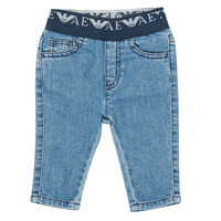 Textil Rapaz Calças de ganga slim Emporio Armani 6HHJ07-4D29Z-0942 Azul