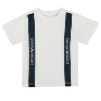Textil Rapaz T-Shirt mangas curtas Emporio Armani 6HHTG4-1JTUZ-0101 Branco