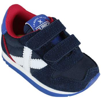 Sapatos Criança Sapatilhas Munich baby massana vco 8820376 Azul