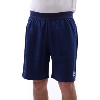 Textil Homem Shorts / Bermudas Umbro  Azul
