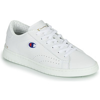 Sapatos Mulher Sapatilhas Champion COURT CLUB PATCH Branco / Bege