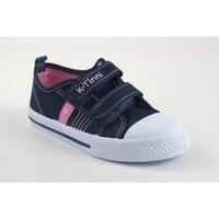 Sapatos Rapariga Sapatilhas Katini Canvas girl  17833 kfy blue Azul