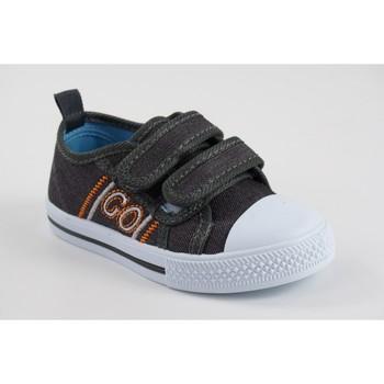 Sapatos Rapaz Sapatilhas Katini Tela infantil  17818 kfy cinza Cinza