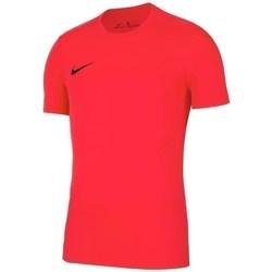 Textil Homem T-Shirt mangas curtas Nike Park Vii Vermelho