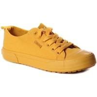 Sapatos Mulher Sapatilhas Big Star FF274A086 Amarelo