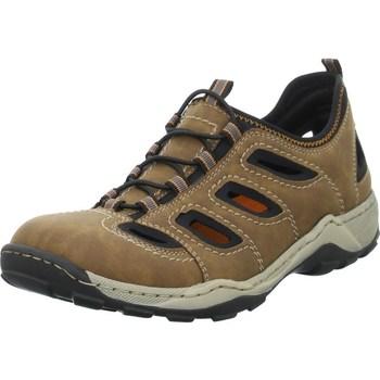 Sapatos Homem Sapatos de caminhada Rieker 0806525 Castanho