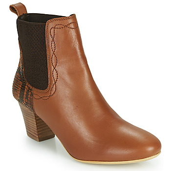 Sapatos Mulher Botins Ravel MOA Camel