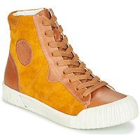Sapatos Mulher Sapatilhas de cano-alto Karston OMSTAR Castanho