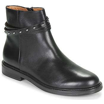 Sapatos Mulher Botas baixas Karston OVMI Preto