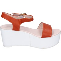 Sapatos Mulher Sandálias Solo Soprani Sandálias BN770 laranja