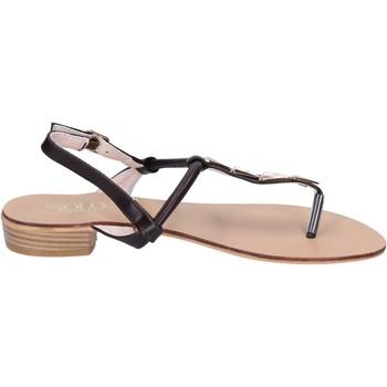 Sapatos Mulher Sandálias Solo Soprani Sandálias BN776 Castanho