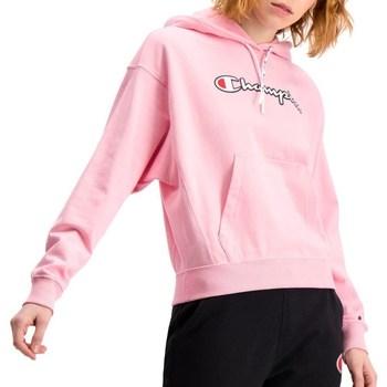 Textil Mulher Sweats Champion Hooded Cor-de-rosa