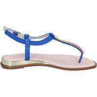 Sapatos Mulher Sandálias Solo Soprani Sandálias BN778 Azul