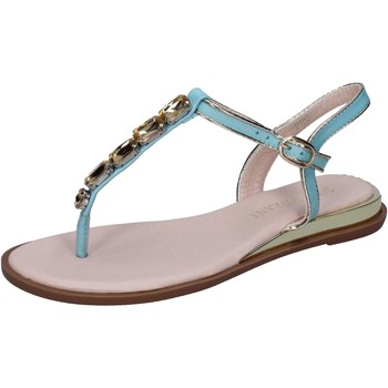 Sapatos Mulher Sandálias Solo Soprani Sandálias BN780 Turquesa