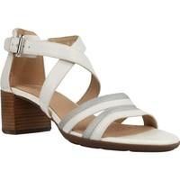 Sapatos Mulher Sandálias Geox D MARYKARMEN M.S. E Branco