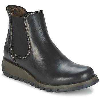 Sapatos Mulher Botas baixas Fly London SALV Preto