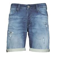 Textil Homem Shorts / Bermudas Jack & Jones JJIRICK Azul
