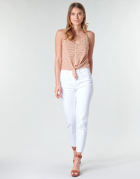 Textil Mulher Calças Only ONLEMILY Branco