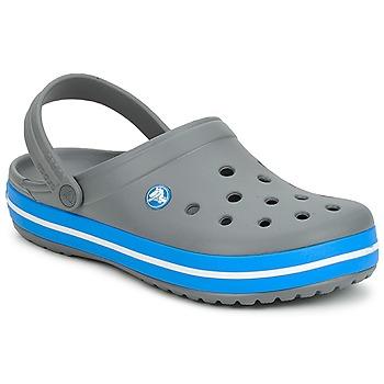 Sapatos Tamancos Crocs CROCBAND Cinza / Oceano